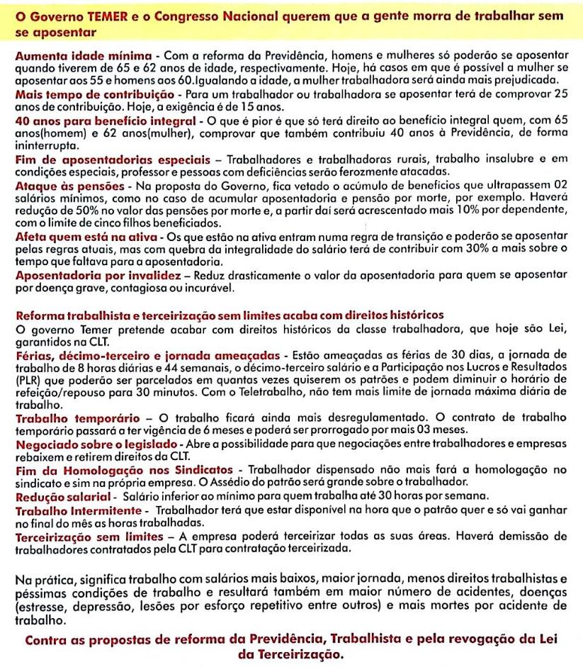 2017 05 22 manifesto centrais sindicais
